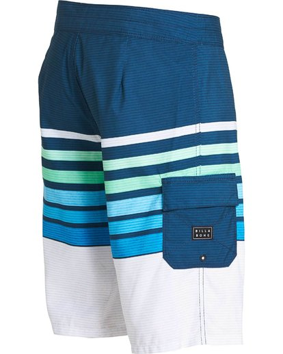 2 All Day OG Stripe Boardshorts Blue M165NBAS Billabong