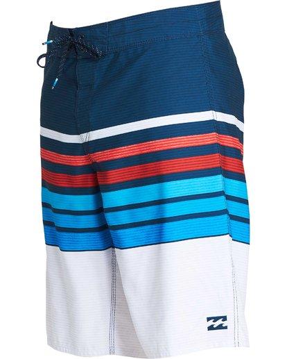 1 All Day OG Stripe Boardshorts Blue M165NBAS Billabong