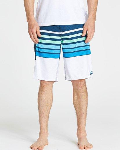 3 All Day OG Stripe Boardshorts Blue M165NBAS Billabong