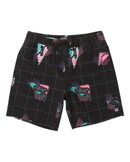 0 Sundays Layback Boardshorts Black M1801BSB Billabong
