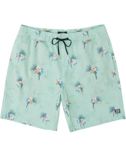 0 Sundays Layback Boardshorts Green M1801BSB Billabong
