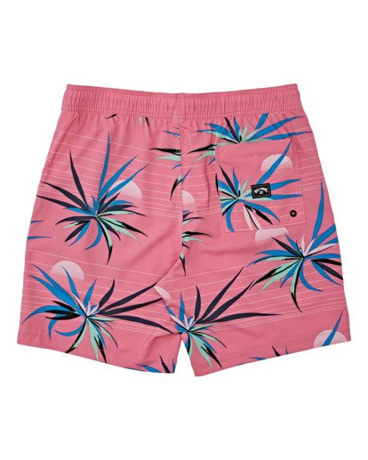 "1 Sundays Layback Boardshort 17"" Pink M1801BSB Billabong"