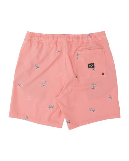 1 Sundays Layback Boardshorts Pink M1801BSB Billabong