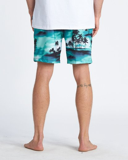 4 Sundays Layback Boardshorts Blue M1801BSB Billabong