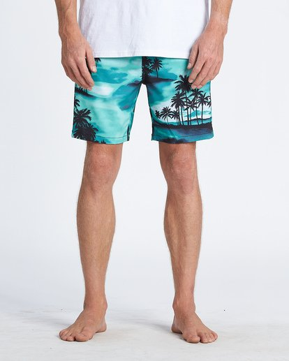 2 Sundays Layback Boardshorts Blue M1801BSB Billabong