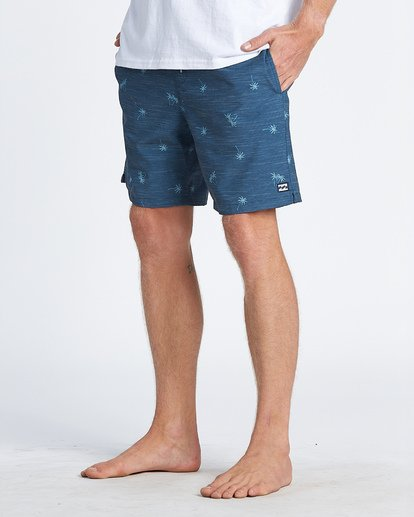 8 Sundays Layback Boardshorts Blue M1801BSB Billabong