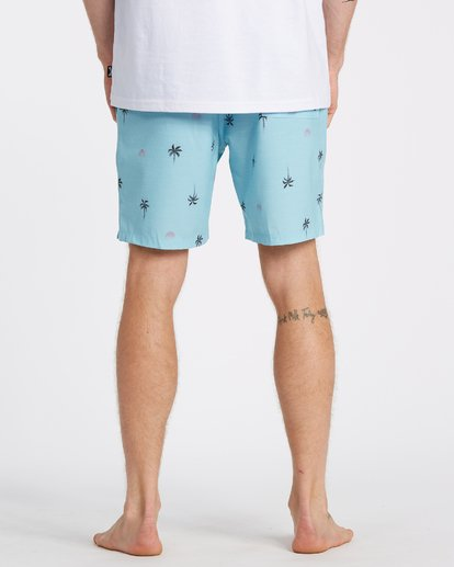 "5 Sundays Layback Boardshort 17"" Blue M1801BSB Billabong"