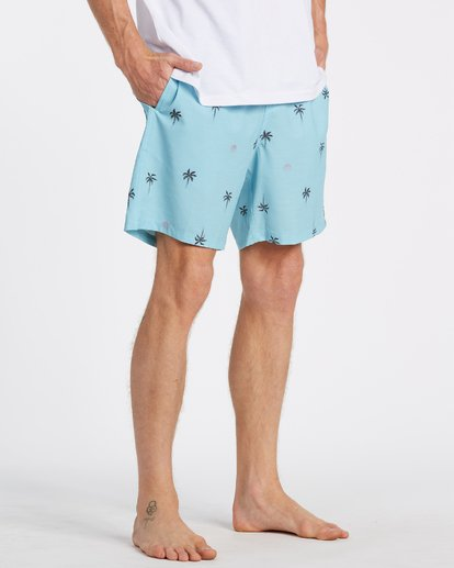 "4 Sundays Layback Boardshort 17"" Blue M1801BSB Billabong"