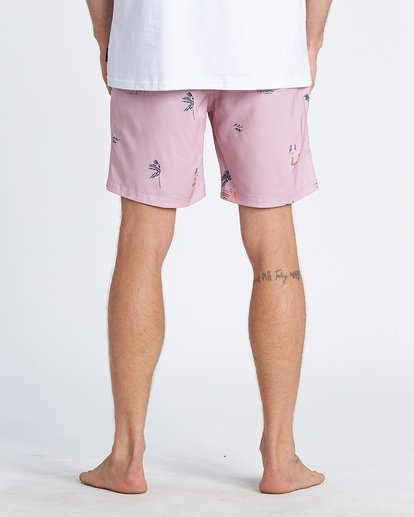 9 Sundays Layback Boardshorts Purple M1801BSB Billabong