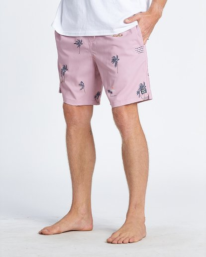 8 Sundays Layback Boardshorts Purple M1801BSB Billabong