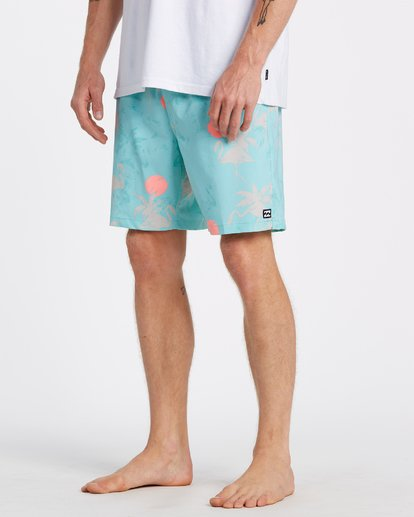3 Sundays Layback Boardshorts Multicolor M1801BSB Billabong