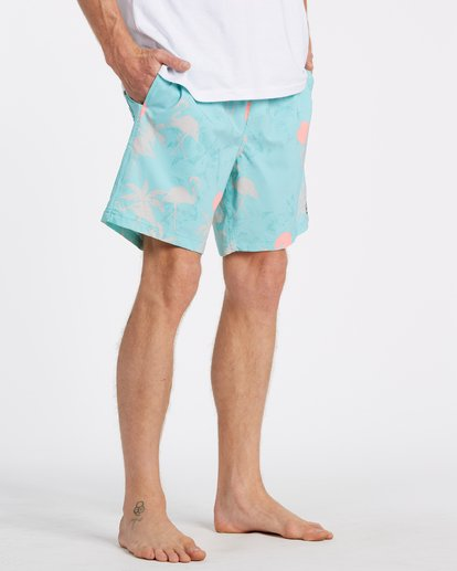 "4 Sundays Layback Boardshort 17"" Multicolor M1801BSB Billabong"