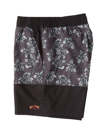 2 Sun Down Layback Boardshorts Black M1801BSE Billabong