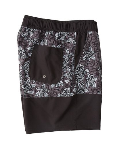 3 Sun Down Layback Boardshorts Black M1801BSE Billabong