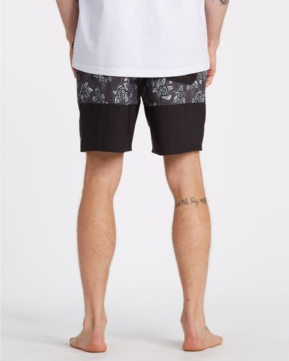 7 Sun Down Layback Boardshorts Black M1801BSE Billabong