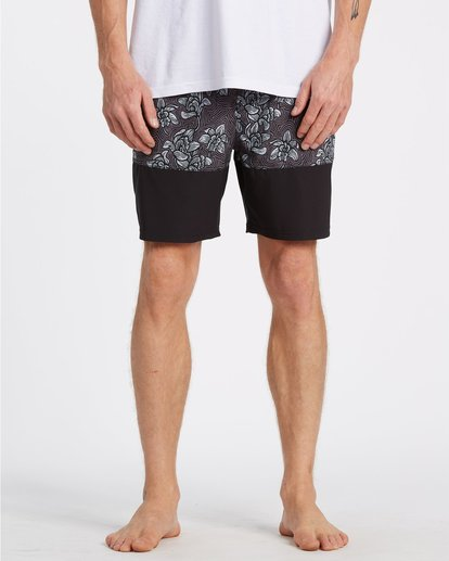 4 Sun Down Layback Boardshorts Black M1801BSE Billabong