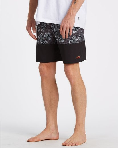 5 Sun Down Layback Boardshorts Black M1801BSE Billabong