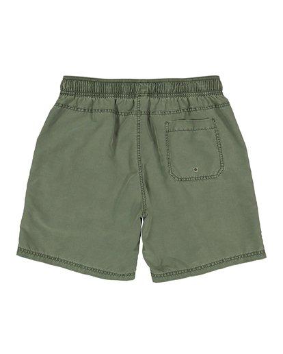 1 All Day Overdye Layback Boardshorts Green M1802BAE Billabong