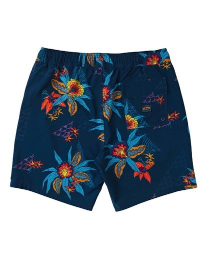 "1 Sundays Layback Boardshort 17"" Blue M1803BSB Billabong"