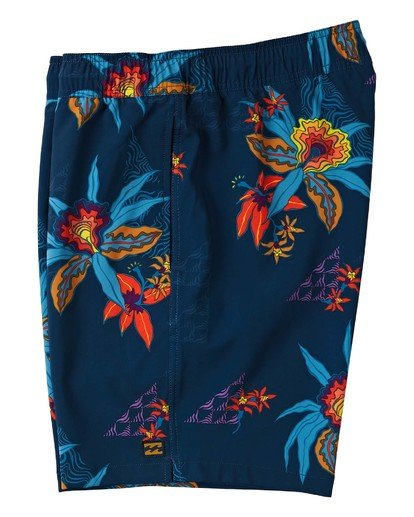 "2 Sundays Layback Boardshort 17"" Blue M1803BSB Billabong"