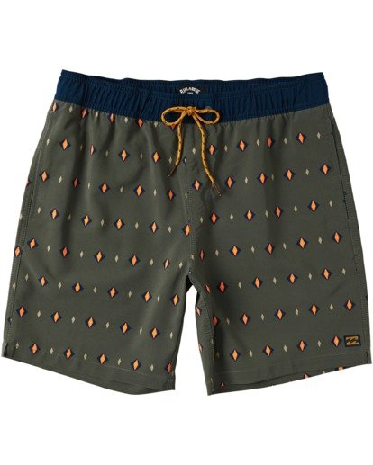 0 Sundays Layback Boardshorts Green M1803BSB Billabong
