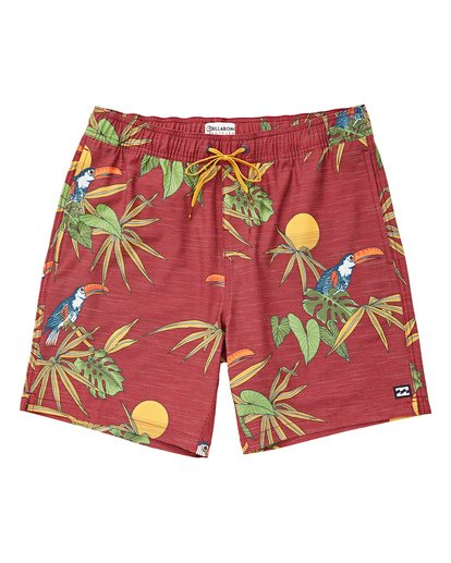 0 Sundays Layback Boardshorts Brown M180TBSU Billabong