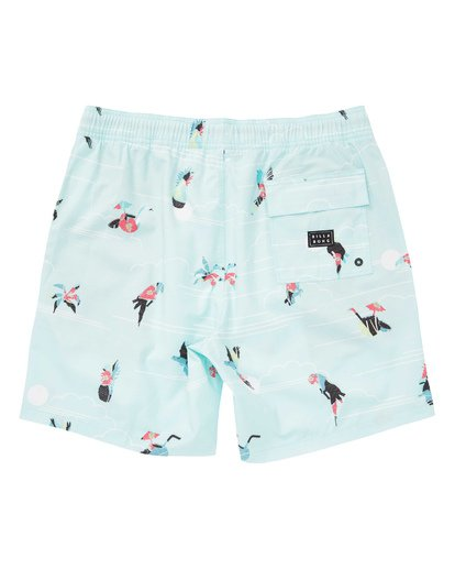 1 Sundays Layback Boardshorts Blue M180TBSU Billabong