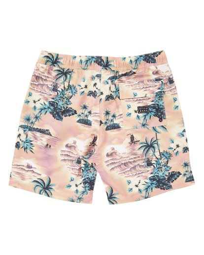 1 Sundays Layback Boardshorts Red M180TBSU Billabong