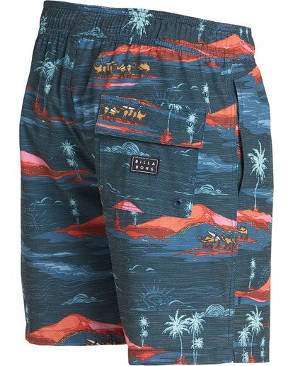 3 Sundays Layback Boardshorts Blue M180TBSU Billabong
