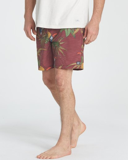 3 Sundays Layback Boardshorts Brown M180TBSU Billabong