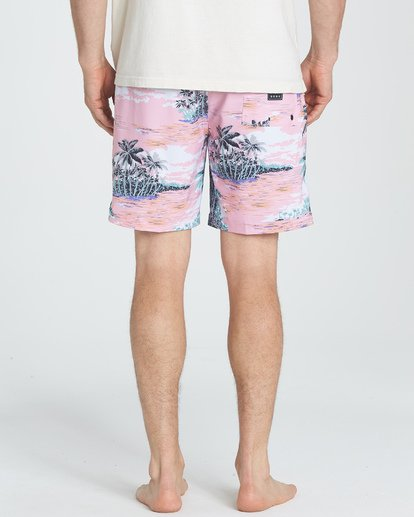 5 Sundays Layback Boardshorts Pink M180TBSU Billabong