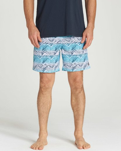 4 Sundays Layback Boardshorts Blue M180TBSU Billabong