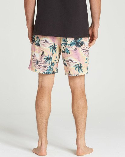 5 Sundays Layback Boardshorts Red M180TBSU Billabong