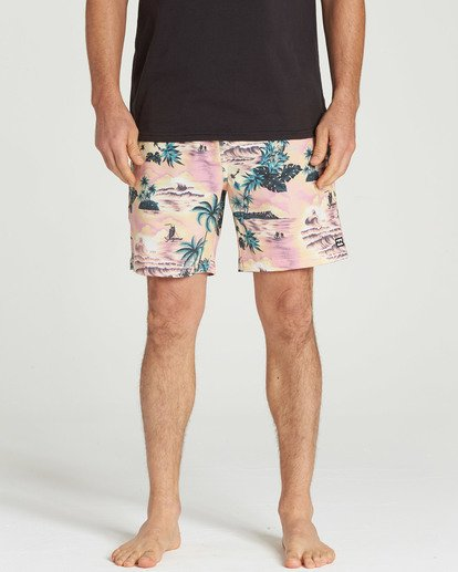 4 Sundays Layback Boardshorts Pink M180TBSU Billabong