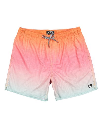 0 Sergio Layback Boardshorts Orange M180VBSE Billabong