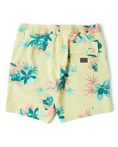 1 Sundays Layback Boardshorts Yellow M180VBSU Billabong