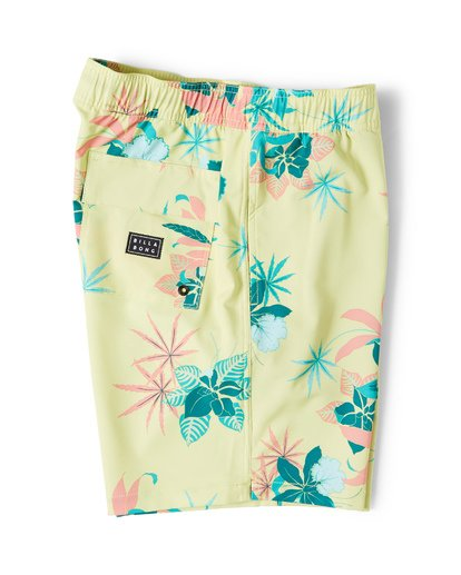 2 Sundays Layback Boardshorts Yellow M180VBSU Billabong