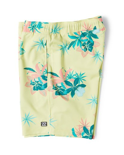3 Sundays Layback Boardshorts Yellow M180VBSU Billabong