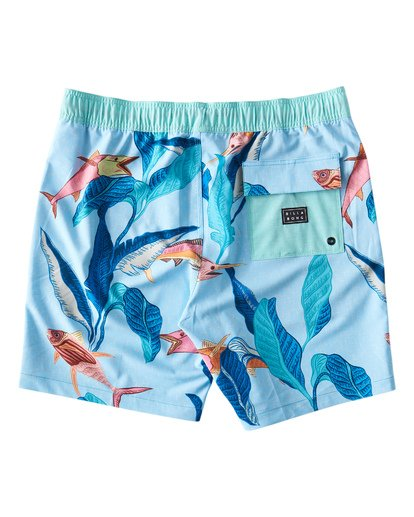 1 Sundays Layback Boardshorts Orange M180VBSU Billabong