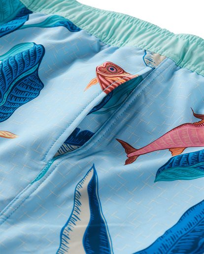 4 Sundays Layback Boardshorts Blue M180VBSU Billabong