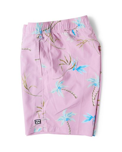 3 Sundays Layback Boardshorts Green M180VBSU Billabong