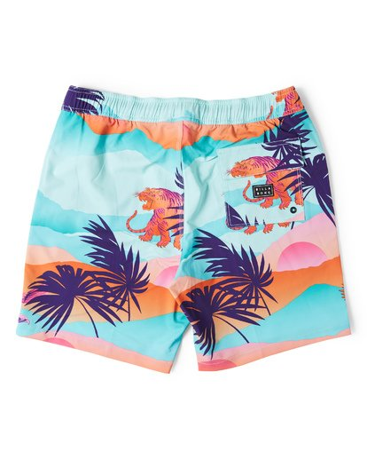1 Sundays Layback Boardshorts Blue M180VBSU Billabong