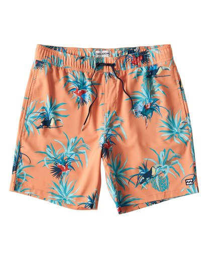 0 Sundays Layback Boardshorts Purple M180VBSU Billabong