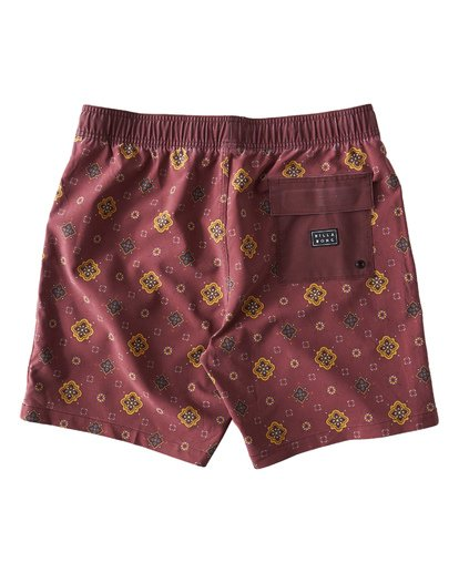 1 Sundays Layback Boardshorts Brown M180VBSU Billabong