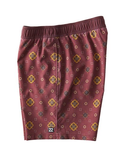 3 Sundays Layback Boardshorts Brown M180VBSU Billabong