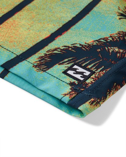 6 Sundays Layback Boardshorts Blue M180VBSU Billabong