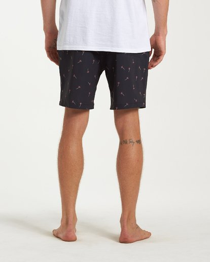 8 Sundays Layback Boardshorts Black M180VBSU Billabong