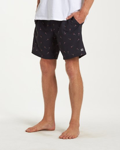 7 Sundays Layback Boardshorts Black M180VBSU Billabong
