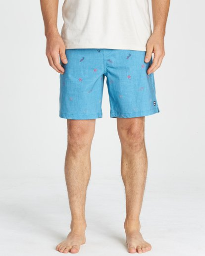 7 Sundays Layback Boardshorts Blue M180VBSU Billabong