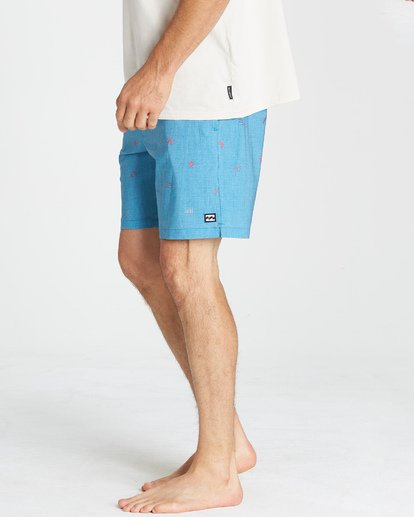 9 Sundays Layback Boardshorts Blue M180VBSU Billabong